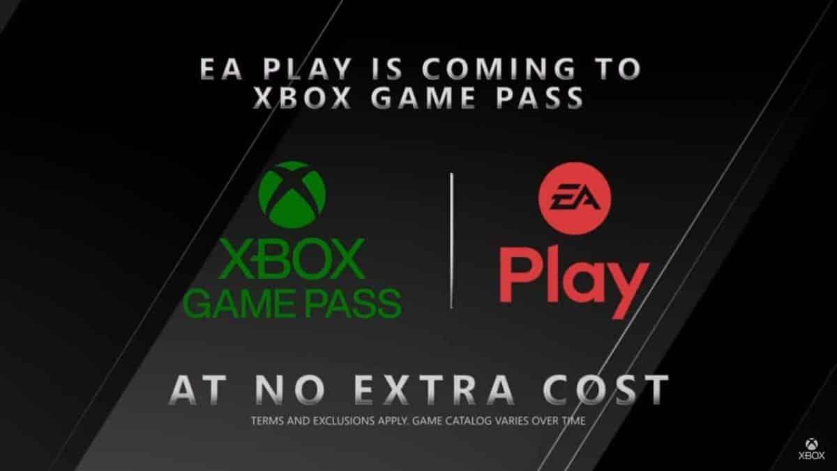 Xbox Game Pass incluirá assinatura do EA Play sem custo adicional